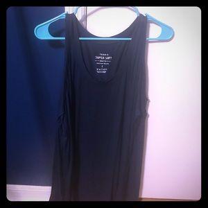 Torrid Knits long cit our sleeve shirt. Navy blue